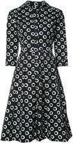 Samantha Sung Audrey dress - women - Cotton/Spandex/Elastane - 4