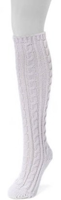 Muk Luks Women's Solid Knee High Socks 7.5 x 4