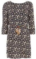 Izabel London Navy Lace Dress