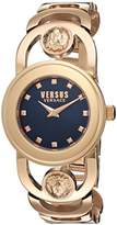 Versus By Versace Women's 'CARNABY STREET' Quartz Stainless Steel Casual Watch, Color:Rose Gold-Toned (Model: SCG140016)