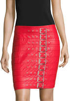 Missguided Buckle Mini Skirt
