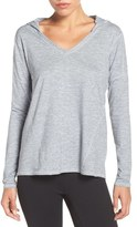 Zella 'To & Fro' Hooded Pullover Tee