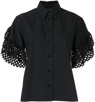 Kolor Laser Cut Sleeves Shirt