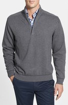 Cutter & Buck Men's Big & Tall 'Broadview' Half Zip Sweater