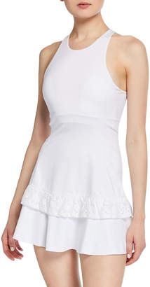 Kate Spade Textured Lace Racerback Tennis Dress