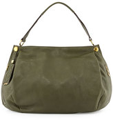 Oryany Kerry Leather Shoulder Bag, Forest Green