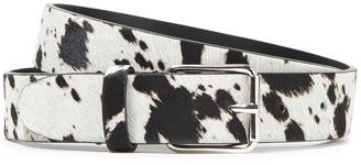 IRO Hiss Printed Calf Hair Belt