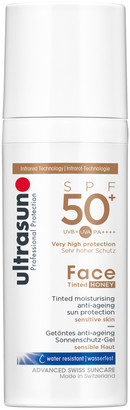 Ultrasun SPF50+ Tinted Face Sun Cream (Various Shades) - Honey