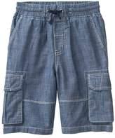 Crazy 8 Chambray Cargo Shorts