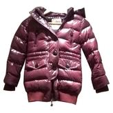 Moncler Purple Synthetic Jacket coat
