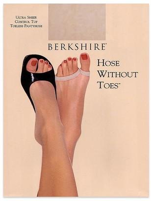 Berkshire Ultra Sheer Toeless Control Top Pantyhose