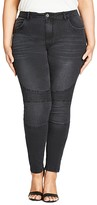 City Chic Night Rider Skinny Jeans