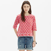 Madewell Province Tee in Ikat Bloom