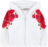 MonnaLisa Printed hoodie