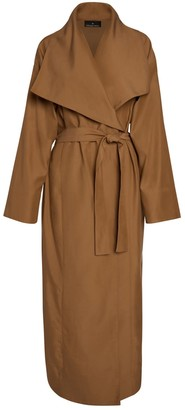 Lâcher Prise Apparel Exode Trench Coat Camel