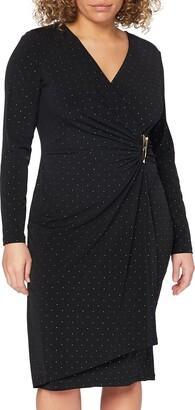 Gina Bacconi Women's Studded Jersey Dress Cocktail