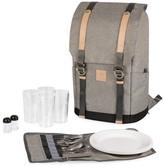 Picnic Time PT-Frontier 25-Piece Flatware & Picnic Backpack Set