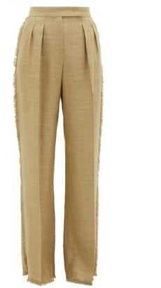 Max Mara Riviera Trousers - Womens - Camel