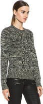 Etoile Isabel Marant Delta Sporty Knit in Ecru & Black