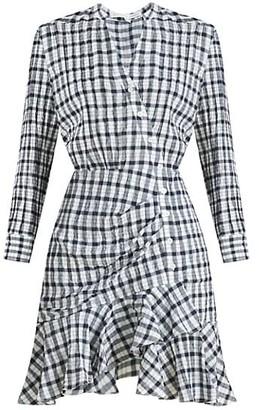 Veronica Beard Sherry Plaid Wrap Shirtdress