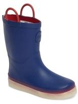 Western Chief Boy's Tech Solid Led Rain Boot