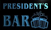 AdvPro Name w028874-b PRESIDENT Name Home Bar Pub Beer Mugs Cheers Neon Light Sign