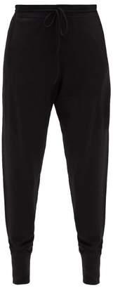 Ernest Leoty - Bertille Merino-wool Track Pants - Womens - Black