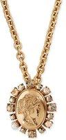 Oscar de la Renta Bold Cameo Pendant Necklace