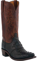 Lucchese Men's Since 1883 M2537.54 Snip Toe Cowboy Heel Saddle Boot