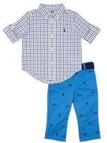 Polo Ralph Lauren Checked Shirt Pant Set