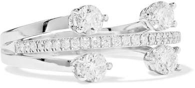 Delfina Delettrez 18-karat White Gold Diamond Ring