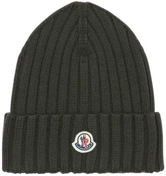 Moncler Wool Knit Beanie Hat