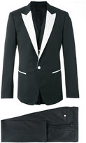 Dolce & Gabbana monochrome tuxedo - men - Silk/Polyester/Acetate/Virgin Wool - 48