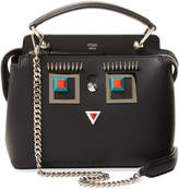 Fendi Women's Dotcom Click Square Eyes Small Leather Satchel