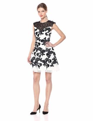 Elliatt Women's Apparel Women's Mystic Lace Up Back Fit & Flare Short Party Dress