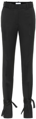 J.W.Anderson High-rise slim wool pants
