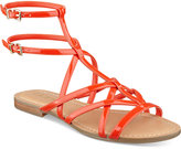 GUESS Women's Mannie Strappy Flat Sandals