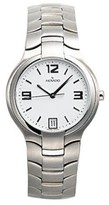 Movado 84 G1 1894 Stainless Steel With White Dial 34mm Mens Watch