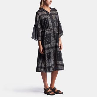 James Perse Bandana Print Shirt Dress
