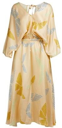 """Forte Forte Papillons Gitans"""" print long dress"""