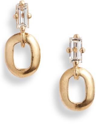 Lizzie Mandler Fine Jewelry Diamond Baguette Stud Earrings