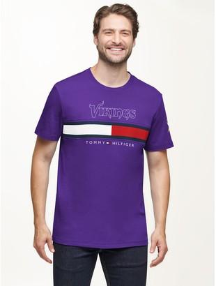Tommy Hilfiger Minnesota Vikings Flag T-Shirt