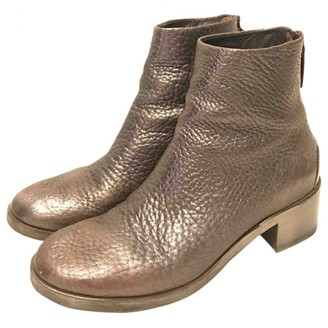 Marsèll Silver Leather Ankle boots