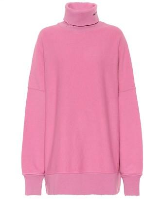 Calvin Klein Oversized logo cotton sweater