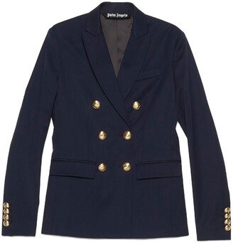 Palm Angels Double Breasted Blazer