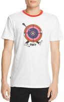 Obey Target Practice Ringer Tee