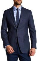 Tommy Hilfiger Bray Blue Two Button Notch Lapel Sportcoat
