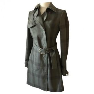 Stella McCartney Stella Mc Cartney Khaki Cotton Trench Coat for Women