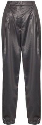 Tibi High-Waisted Tapered Trousers