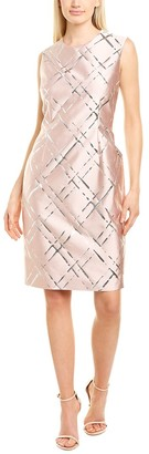 Escada Deide Wool-Blend Sheath Dress
